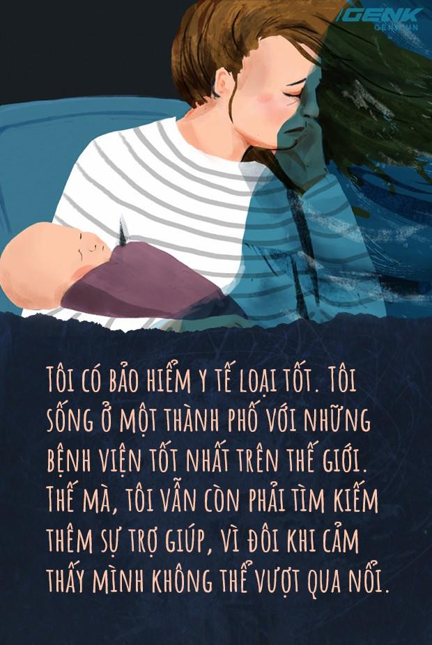 Doc nhat ky mot ba me tram cam sau sinh Giua tinh yeu vo bien la noi buon sau tham nhat