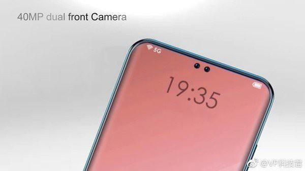Hé lộ concept Oppo R19 với hai nốt ruồi dành cho camera selfie kép, màn hình chiếm 95% mặt trước - Ảnh 2.