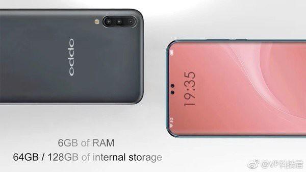 Hé lộ concept Oppo R19 với hai nốt ruồi dành cho camera selfie kép, màn hình chiếm 95% mặt trước - Ảnh 4.