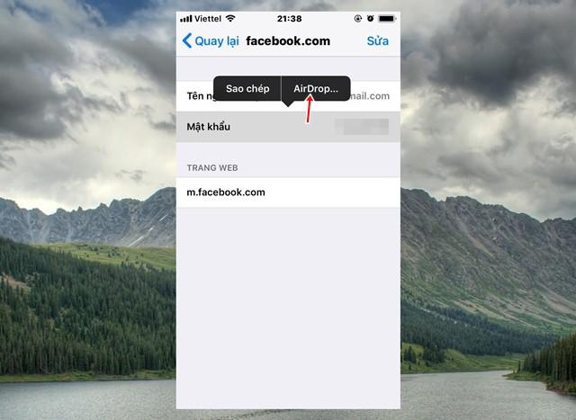Mẹo tận dụng AirDrop để chuyển mật khẩu qua lại giữa các thiết bị iPhone, iPad và Mac - Ảnh 7.