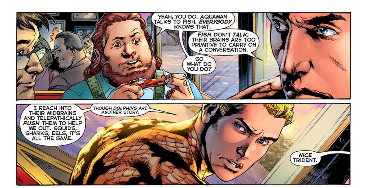 Thất Hải Chi Vương Aquaman: Hành trình từ chàng thanh niên bị coi thường tới Bá chủ biển cả - Ảnh 17.