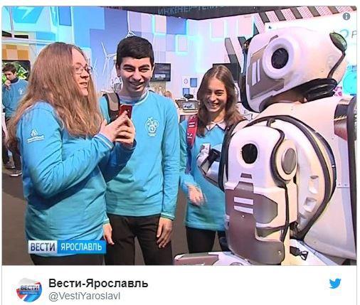 Robot hiện đại nhất của Nga hóa ra là một bộ giáp có người điều khiển bên trong - Ảnh 2.