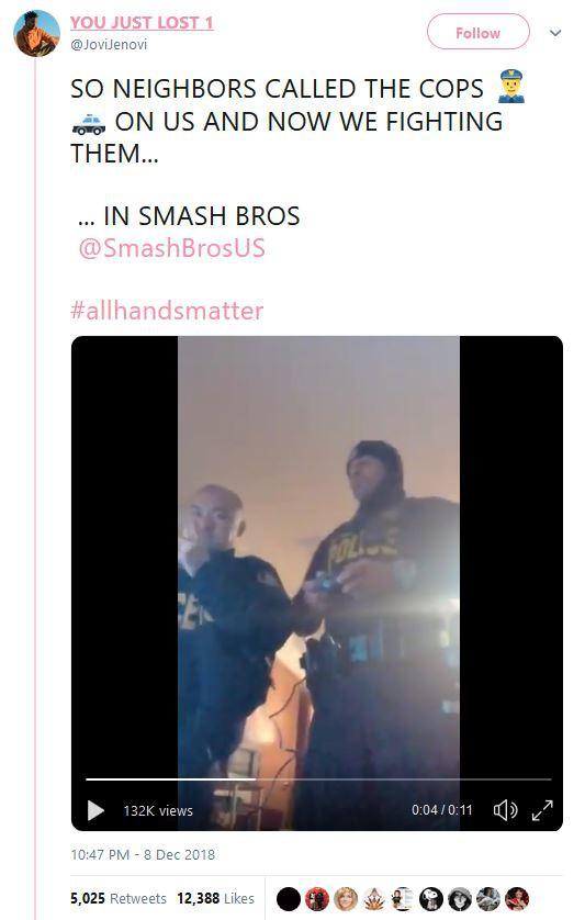 Bị hàng xóm trình báo vì gây tiếng ồn, nhóm thanh niên Mỹ được cảnh sát hỏi thăm rồi chơi game luôn với nhau - Ảnh 2.