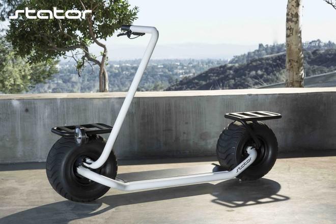 Stator: Mẫu xe điện hai bánh tự cân bằng, lốp to như lốp xe hơi, chỉ có một tay lái, tốc độ tối đa 40km/h - Ảnh 10.