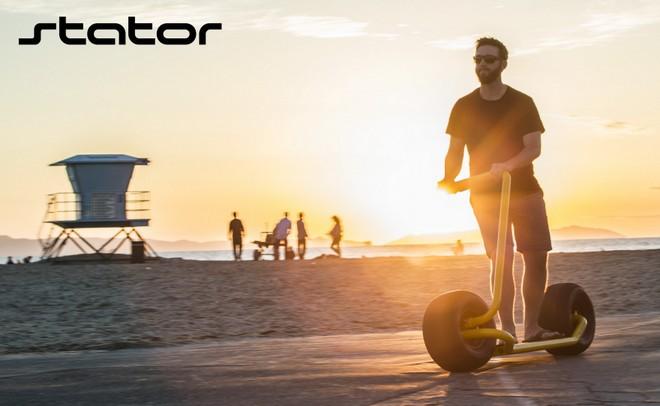Stator: Mẫu xe điện hai bánh tự cân bằng, lốp to như lốp xe hơi, chỉ có một tay lái, tốc độ tối đa 40km/h - Ảnh 9.