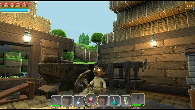 Chỉ với 3$, nhận ngay Portal Knights - Sự kết hợp hoàn hảo giữa Minecraft và Legend of Zelda - Ảnh 4.