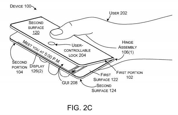 Sáng chế mới cho thấy Microsoft vẫn đang theo đuổi smartphone màn hình gập - Ảnh 3.