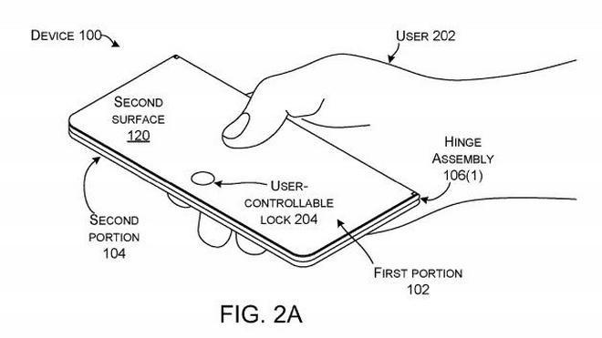 Sáng chế mới cho thấy Microsoft vẫn đang theo đuổi smartphone màn hình gập - Ảnh 1.