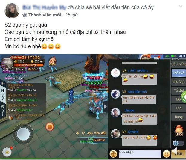 """Tam Sinh Tam Thế: Vừa được khen """"server không thích phốt"""" xong, game thủ server 2 đã... vả vào mồm người viết bằng màn nổ địa chỉ cực gắt - Ảnh 2."""