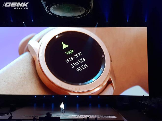 Samsung Galaxy Watch chính thức ra mắt tại Việt Nam - Ảnh 3.