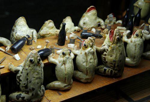 Tham quan bảo tàng ếch độc nhất vô nhị ở Thụy Sĩ với đầy những bất ngờ - Ảnh 11.