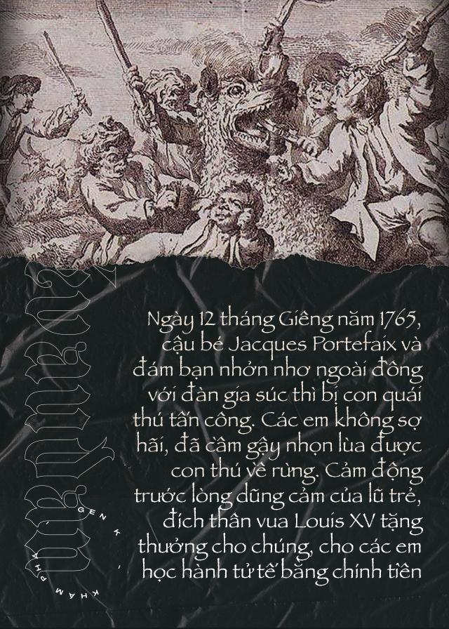 Quái thú ăn thịt người vùng Gévaudan: nỗi kinh hãi của người dân Pháp hồi thế kỷ 18 - Ảnh 4.
