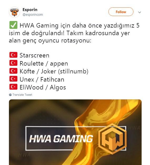 Đội tuyển đang xếp chót bảng giải đấu LMHT Thổ Nhĩ Kỳ chơi trội, tuyển 1 lúc 5 hot girl vào đội hình chính thức thi đấu tại TCL 2019 - Ảnh 1.