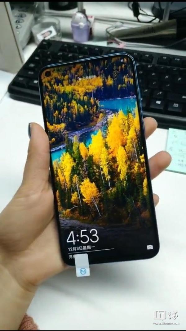 Huawei Nova 4 tiếp tục lộ ảnh thật, đục lỗ góc trên bên trái màn hình cho camera trước, 3 camera sau - Ảnh 1.