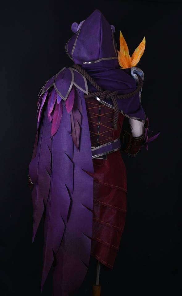 LMHT: Bang nhá hàng bộ trang phục cosplay Xayah chất phát ngất, kèo này ăn đứt Sneaky rồi - Ảnh 3.