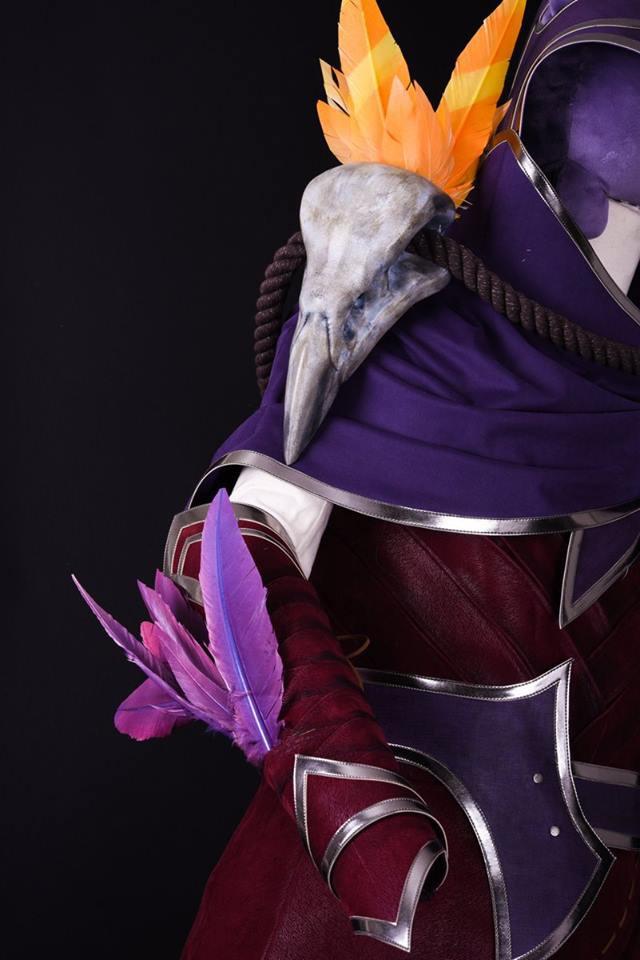 LMHT: Bang nhá hàng bộ trang phục cosplay Xayah chất phát ngất, kèo này ăn đứt Sneaky rồi - Ảnh 4.