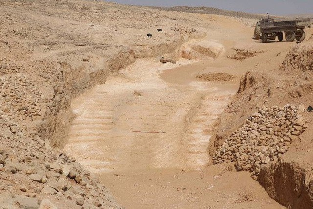 """Bằng chứng khoa học mới nhất về """"công nghệ"""" xây kim tự tháp của người Ai Cập cổ cách đây 4.500 năm - Ảnh 1."""