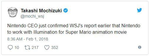 Nintendo xác nhận sẽ hợp tác với cha đẻ của loạt phim Minion để đưa Mario lên màn ảnh Hollywood - Ảnh 2.
