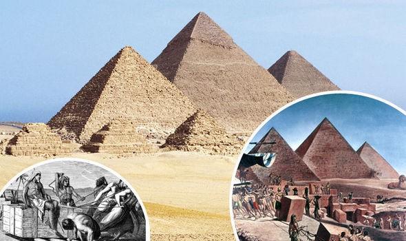 Nhờ vật lý, ta đã biết cách người Ai Cập cổ đại xây kim tự tháp Giza - kỳ quan thế giới như thế nào - Ảnh 2.