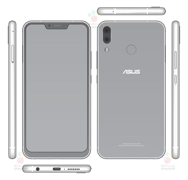 ASUS Zenfone 5 lộ diện, thiết kế giống hệt iPhone X và có cả tính năng nhận diện khuôn mặt - Ảnh 1.