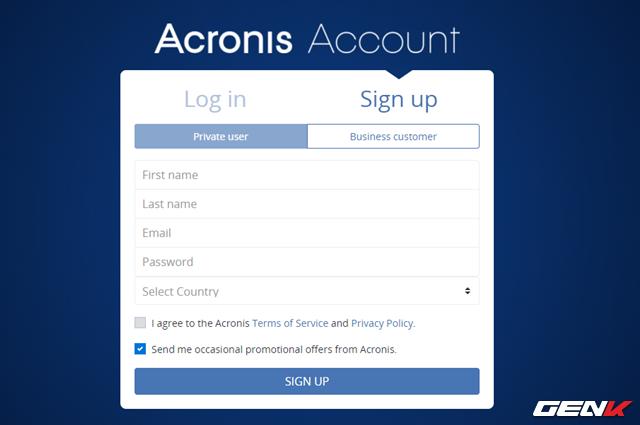 Để bắt đầu, bạn cần truy cập vào địa chỉ này và tiến hành tạo cho mình một tài khoản cá nhân. Sau khi đăng ký, bạn cần phải truy cập hộp thư để kích hoạt xác thực tài khoản để hoàn tất việc đăng ký.