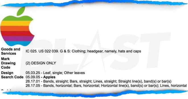 Apple xin cấp lại bản quyền logo cầu vồng để dùng cho quần áo? - Ảnh 2.