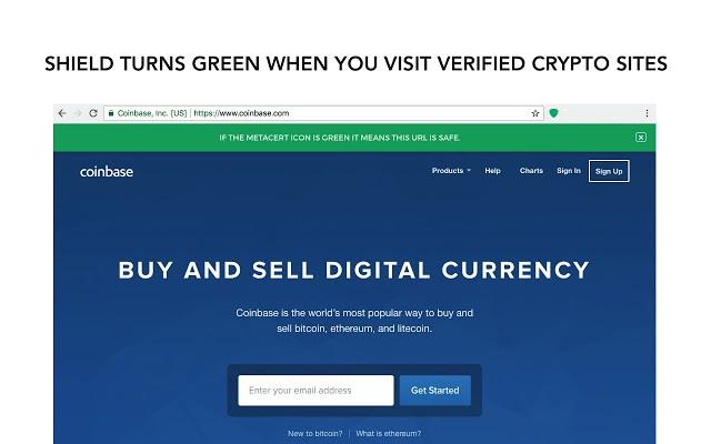 Cryptonight xác nhận tên miền thật và an toàn.