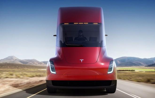 Tesla Semi đang được rất nhiều công ty lớn quan tâm dù chưa chính thức ra mắt.