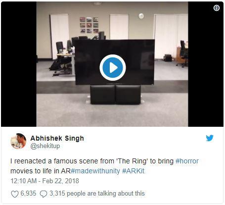 Bài đăng trên Twitter của Abhishek Singh nhận được rất nhiều sự quan tâm.