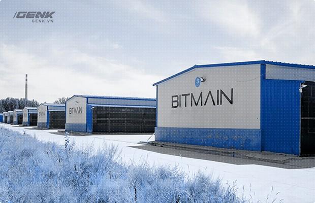 Nơi những đồng tiền Bitcoin được đào lên.