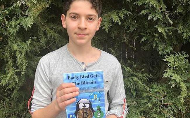Cậu bé 11 tuổi viết sách về bitcoin để trẻ em nào cũng có thể hiểu được công nghệ blockchain - Ảnh 1.