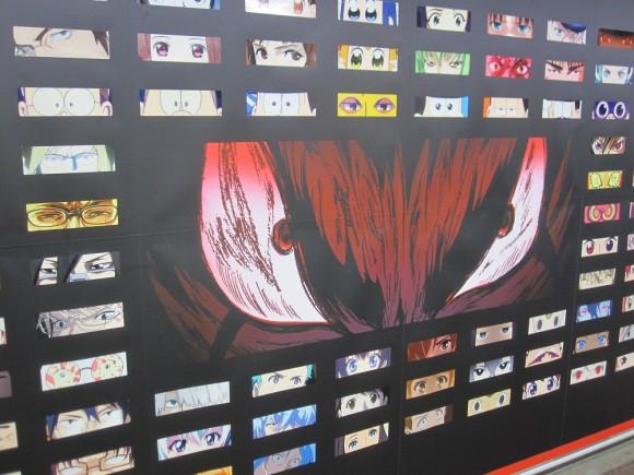 Netflix phủ kín ga tàu đông đúc nhất Tokyo bằng 280 đôi mắt của nhân vật anime - Ảnh 8.