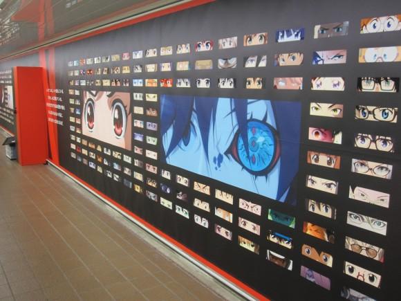Netflix phủ kín ga tàu đông đúc nhất Tokyo bằng 280 đôi mắt của nhân vật anime - Ảnh 13.
