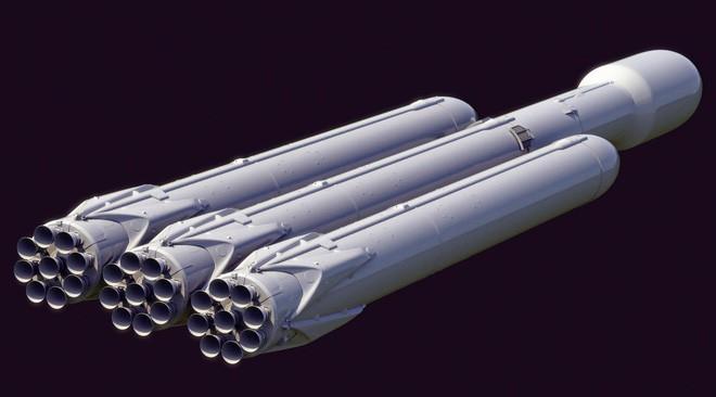 Tên lửa đẩy Falcon Heavy của SpaceX.