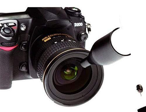 Đầu nozzle nhỏ thích hợp cho những vùng chi tiết, ngóc ngách như ống kính máy ảnh.