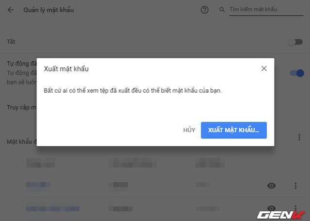 Hướng dẫn xuất toàn bộ mật khẩu đã lưu trên Google Chrome - Ảnh 9.
