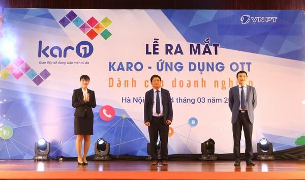 VNPT chính thức giới thiệu ứng dụng OTT Karo đến cộng đồng doanh nghiệp và người dùng cá nhân