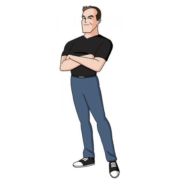 Tự họa theo 100 phong cách hoạt hình khác nhau, chàng họa sĩ khiến Internet thích thú - Ảnh 12.