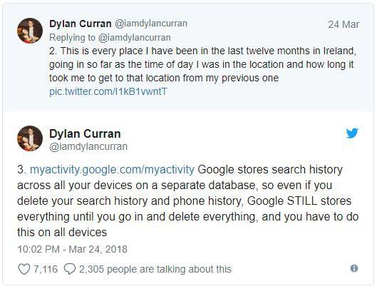 Lo sợ khi nghe tin Facebook thu thập dữ liệu? Kiểm tra tài khoản Google bạn còn khiếp hãi hơn - Ảnh 3.