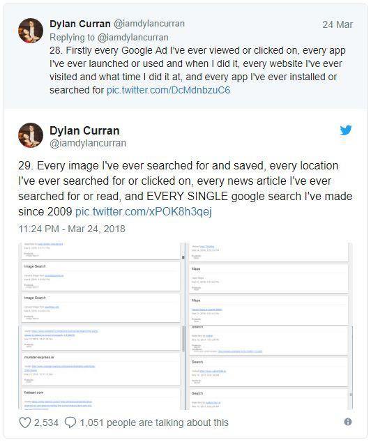Lo sợ khi nghe tin Facebook thu thập dữ liệu? Kiểm tra tài khoản Google bạn còn khiếp hãi hơn - Ảnh 5.