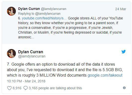 Lo sợ khi nghe tin Facebook thu thập dữ liệu? Kiểm tra tài khoản Google bạn còn khiếp hãi hơn - Ảnh 1.