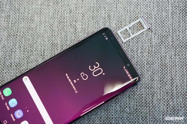 Mở hộp Samsung Galaxy S9+ Tím Lilac bản chính thức: Đẳng cấp thời trang là đây! - Ảnh 26.