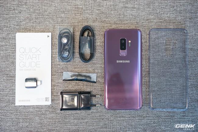 Mở hộp Samsung Galaxy S9+ Tím Lilac bản chính thức: Đẳng cấp thời trang là đây! - Ảnh 22.