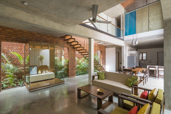 Ngôi nhà gạch ở Ấn Độ được tạp chí kiến trúc Mỹ khen ngợi vì khả năng chống nóng độc đáo - Ảnh 11.