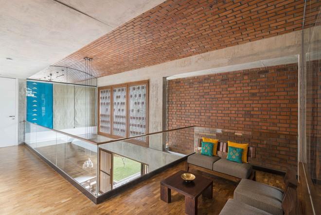Ngôi nhà gạch ở Ấn Độ được tạp chí kiến trúc Mỹ khen ngợi vì khả năng chống nóng độc đáo - Ảnh 13.