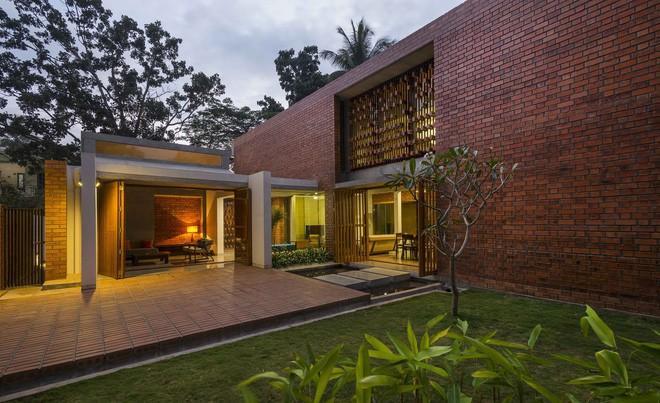 Ngôi nhà gạch ở Ấn Độ được tạp chí kiến trúc Mỹ khen ngợi vì khả năng chống nóng độc đáo - Ảnh 4.