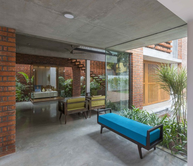 Ngôi nhà gạch ở Ấn Độ được tạp chí kiến trúc Mỹ khen ngợi vì khả năng chống nóng độc đáo - Ảnh 9.