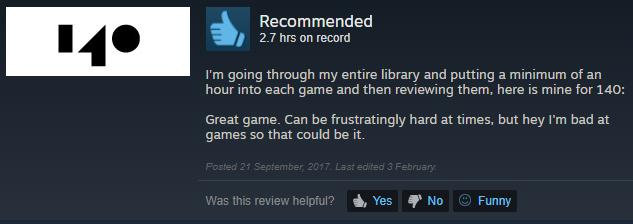 Game hay đấy. Có những lúc khó đến ức chế, nhưng tôi vốn chơi game dở mà, nên đó vẫn có thể là lý do game nó khó.