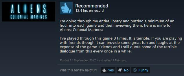 Tôi đã chơi game này 3 lần. Nó dở kinh khủng. Nhưng nếu bạn chơi với bạn thì nó lại rất vui mà cười thì thôi rồi. Bạn tôi với tôi vẫn thỉnh thoảng trích dẫn lại ba cái lời thoại dở tệ trong game.