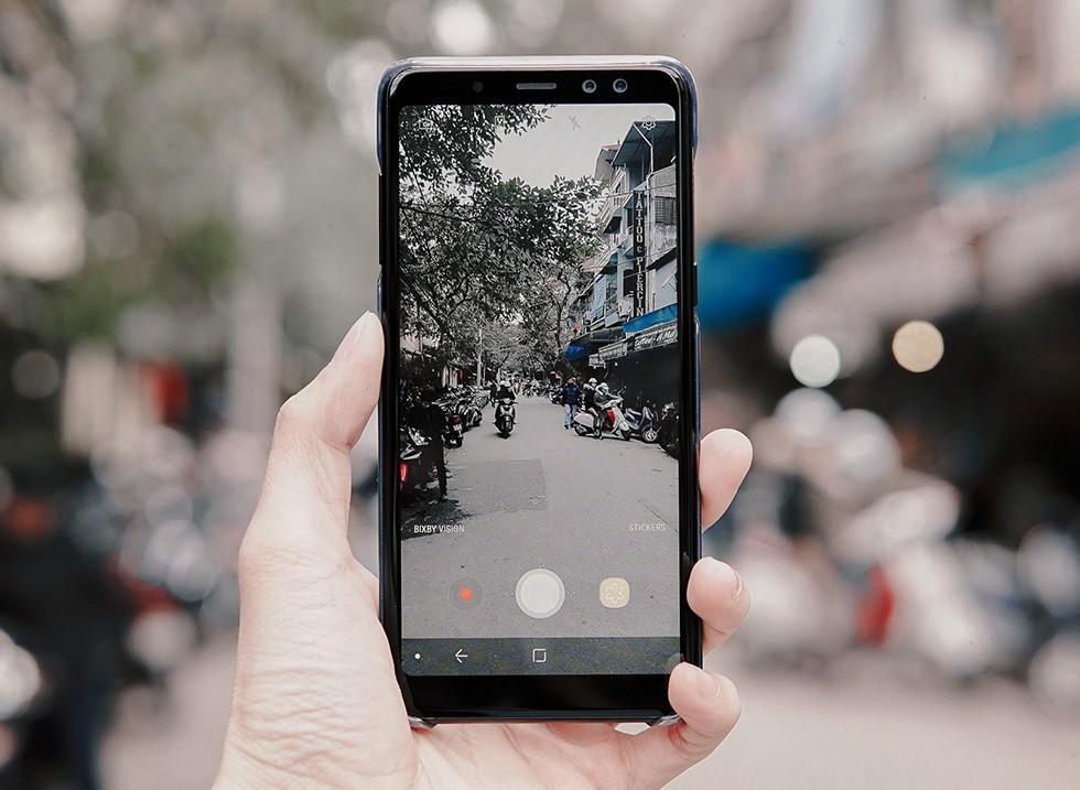 Đánh giá Galaxy A8: 4 điểm để yêu, 5 điều để nhớ - Ảnh 7.
